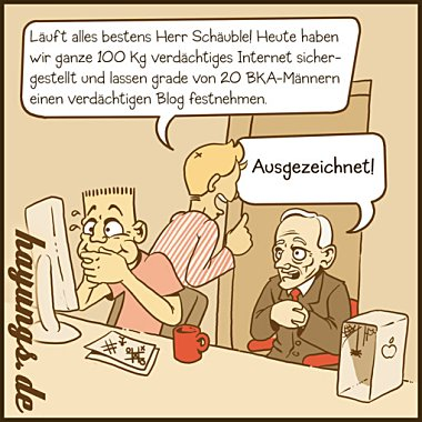 Wolfgang Schäubles Onlinedurchsuchung in der Praxis