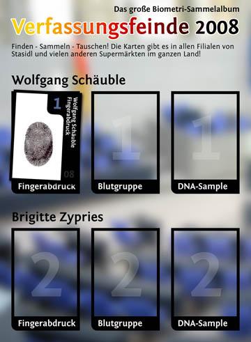 Schäubles Fingerabdrücke