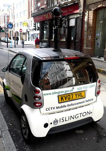 Überwachungswagen in England