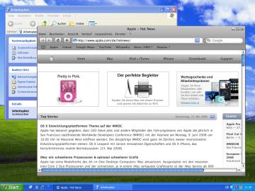 Safari unter Windows