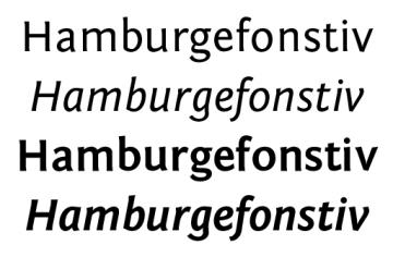 Fontin Sans