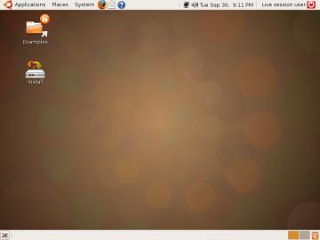 Ubuntu 8.10 - Intrepid Ibex