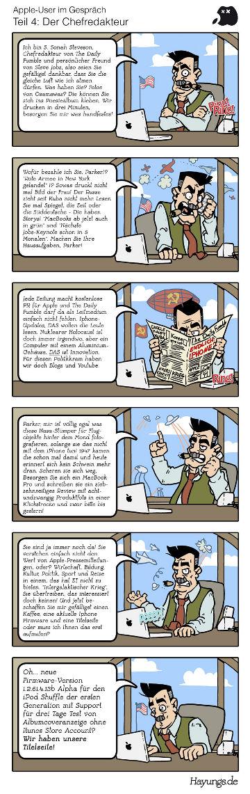 Apple und die Medien