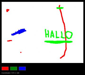 Ein einfaches Malprogramm mit Canvas