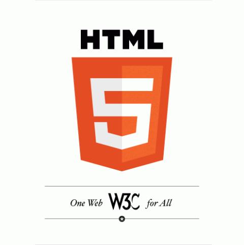 Das offizielle Logo von HTML5