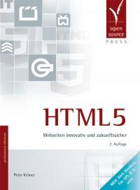 Cover des HTML5-Buchs, zweite Auflage