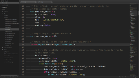 Sublime Text 2 in Aktion